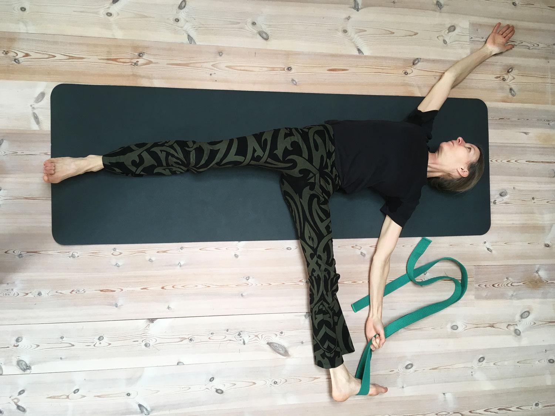 Yoga Med bælte